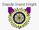 Deputy Grand Knight jewel