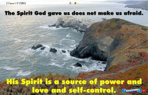 picture for feed your spirit - self-control - Stinson Beach, Stinson Beach, CA