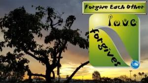 Picture of Sunset in the 'Burg for the forgive each other bible study