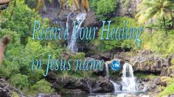 Picture of waterfalls at the Seven Sacred Pools at Ohe'o for the receive your healing bible study