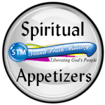 logo for spiritual appetizers on bible study collection