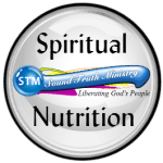 logo for spiritual nutrition on bible study collection