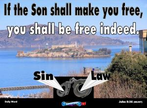 picture for daily message wed - freedom through christ