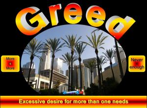 picture for greed - los angeles