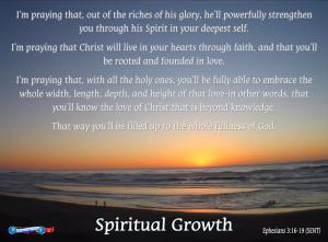 picture for spiritual growth - San Francisco beach