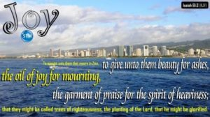 Picture of Honolulu for the joy bible study Isaiah 61:3