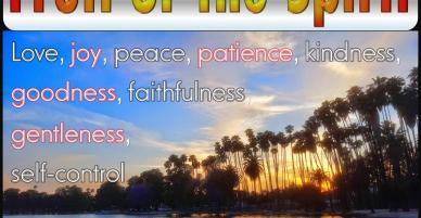 Fruit of the Spirit – Can Others See God Through You?