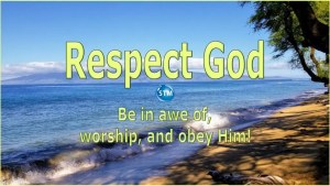 Picture of Molokai for the respect God bible study