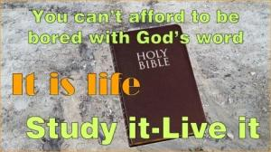 picture of bible for god's word bible lesson gods word