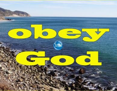 Obey God Not People; You Will Never Regret It