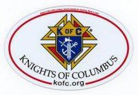KC Oval Magnet