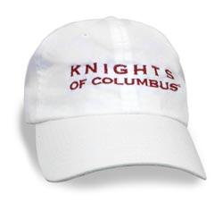 KC White Hat w/Letters