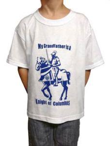 Mr Grandpa is a Knight of Columbus