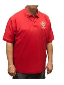 Red KC Golf shirt