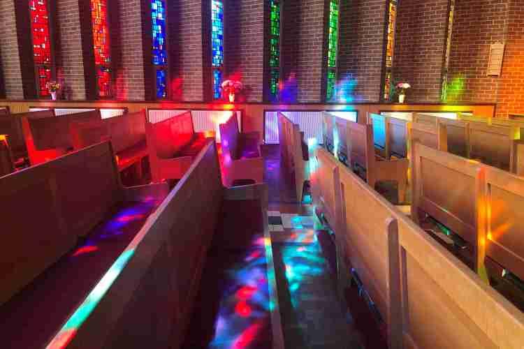 St Molua's Church in lockdown 2020