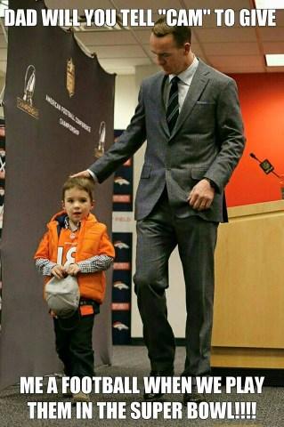 Peyton's son