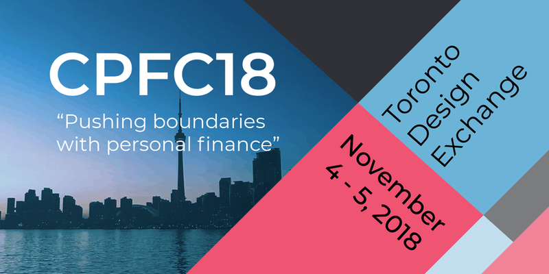 CPFC 2018 - Canadian Personal Finance Conference