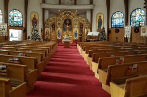 Inside Nicholas Church