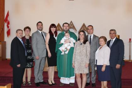 Baptism of Luka Lopes