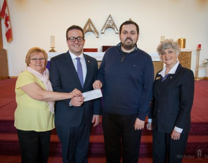 Donation received from Glen Eden Funeral Home & Cemetery