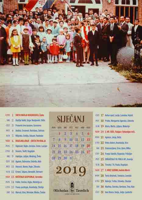 kalendar 2019 WINNIPEG