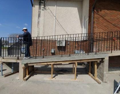 Wheelchair Ramp Construction - UPDATE
