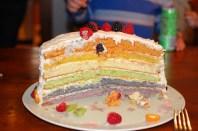 Six all-natural layers of joy (no food coloring!)