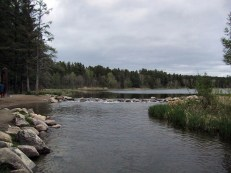 Source of the Mississippi river at Lake Itasca, MN.