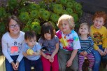 Cousins! From left to right: Raven, Caleb, Julia, Griffin, Maggie, Max