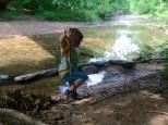 exploring Little Falls Creek