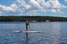 Griffin was a paddleboard champ