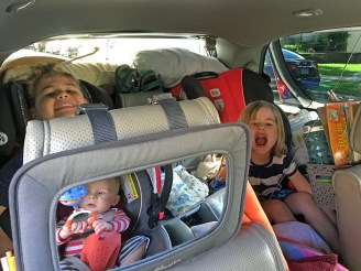 Kids are ready to go!