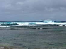 Surf at Ke'e Beach
