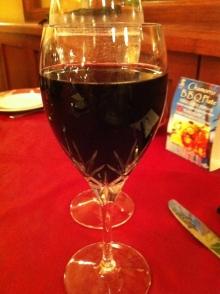 レオパレスリゾートの夕食 ワイン