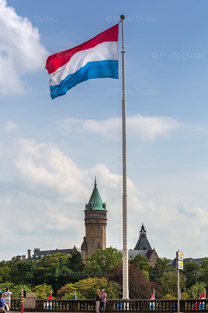 Luxembourgish national flag