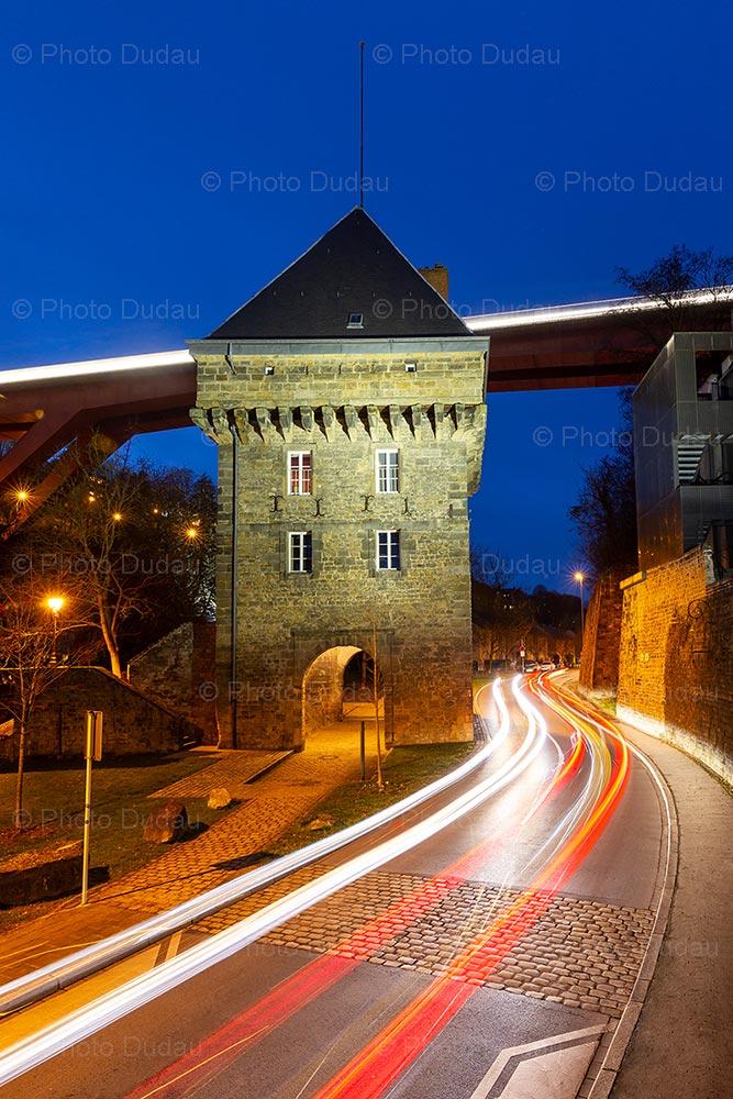 Vauban Tower in Pfaffenthal