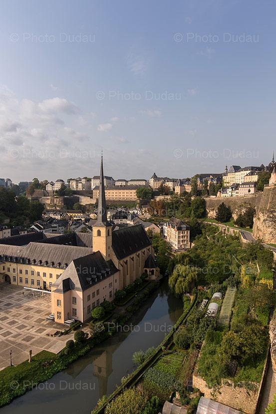 Abbaye de Neumunster in Grund, Luxembourg city.