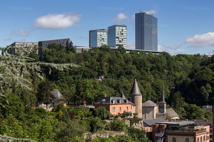 Clausen and Kirchberg, Luxembourg