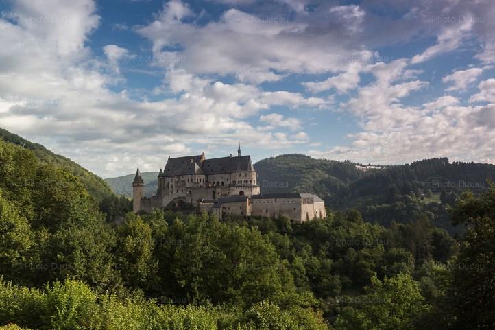 vianden castle luxembourg ardennes