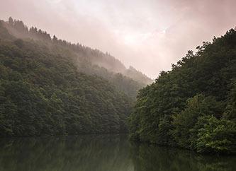 Upper-Sûre lake