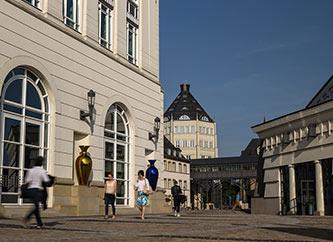 Cite Judiciare in Luxembourg city.