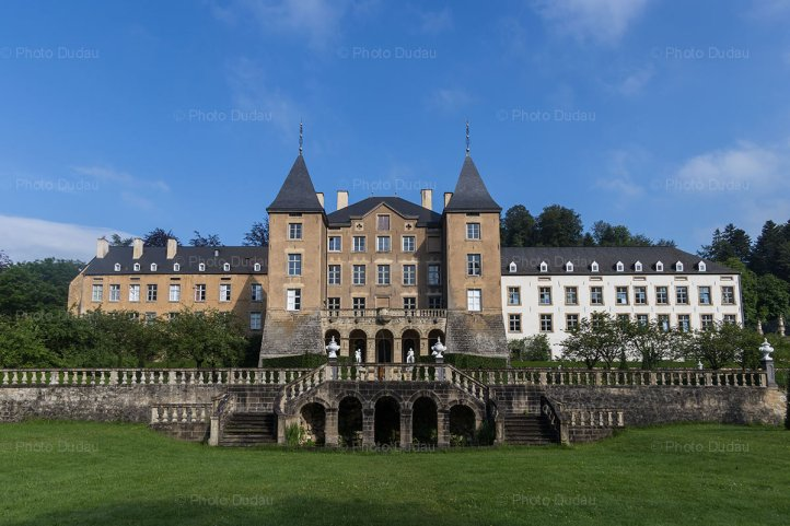 New Castle of Ansembourg in Luxembourg