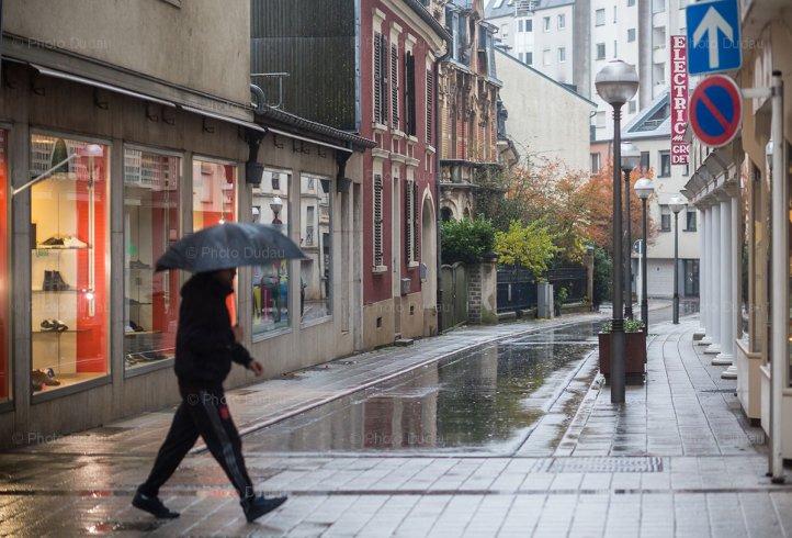 Rain in Esch