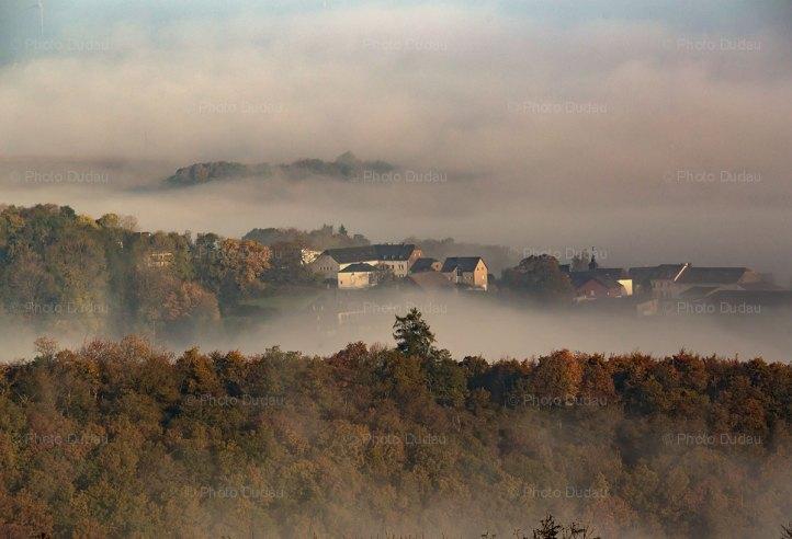 Putscheid village in Luxembourg