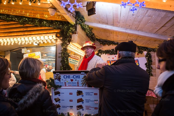 Jean la Gaufre at Luxembourg Christmas Market