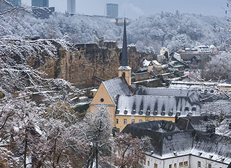snow in luxembourg