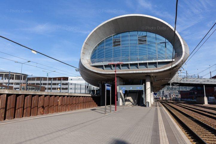Train station in Belval, Esch-sur-Alzette