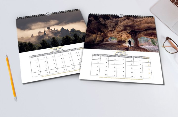 Magic Luxembourg Calendar