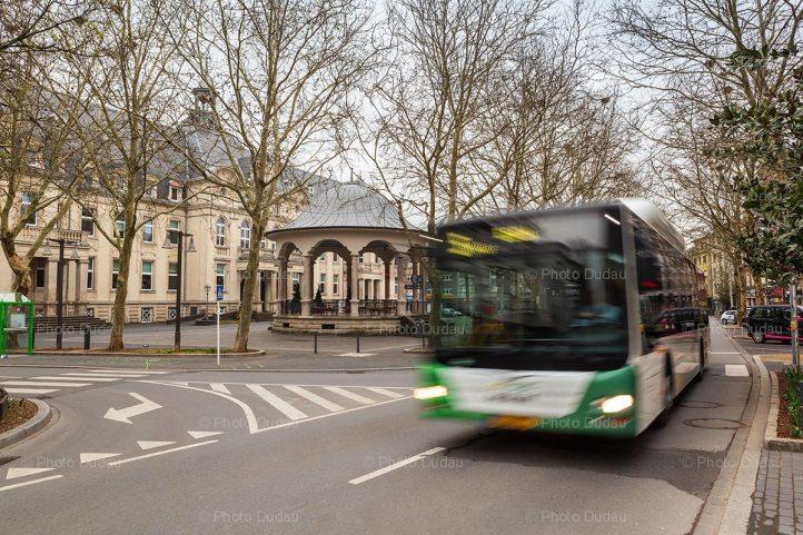 Bus in Dudelange