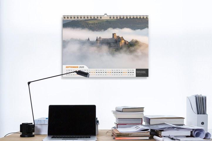 Luxembourg Calendar 2020